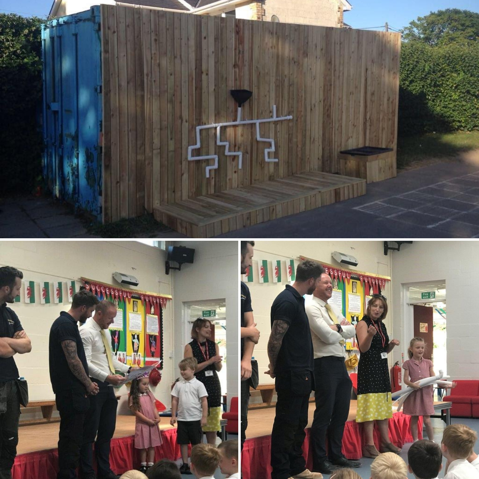 Manning Construction Visits Local School
