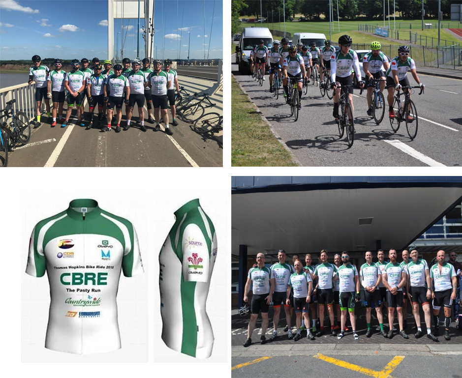 Manning Construction Recently Sponsored a Charity Bike Ride from Cornwall to Swansea.