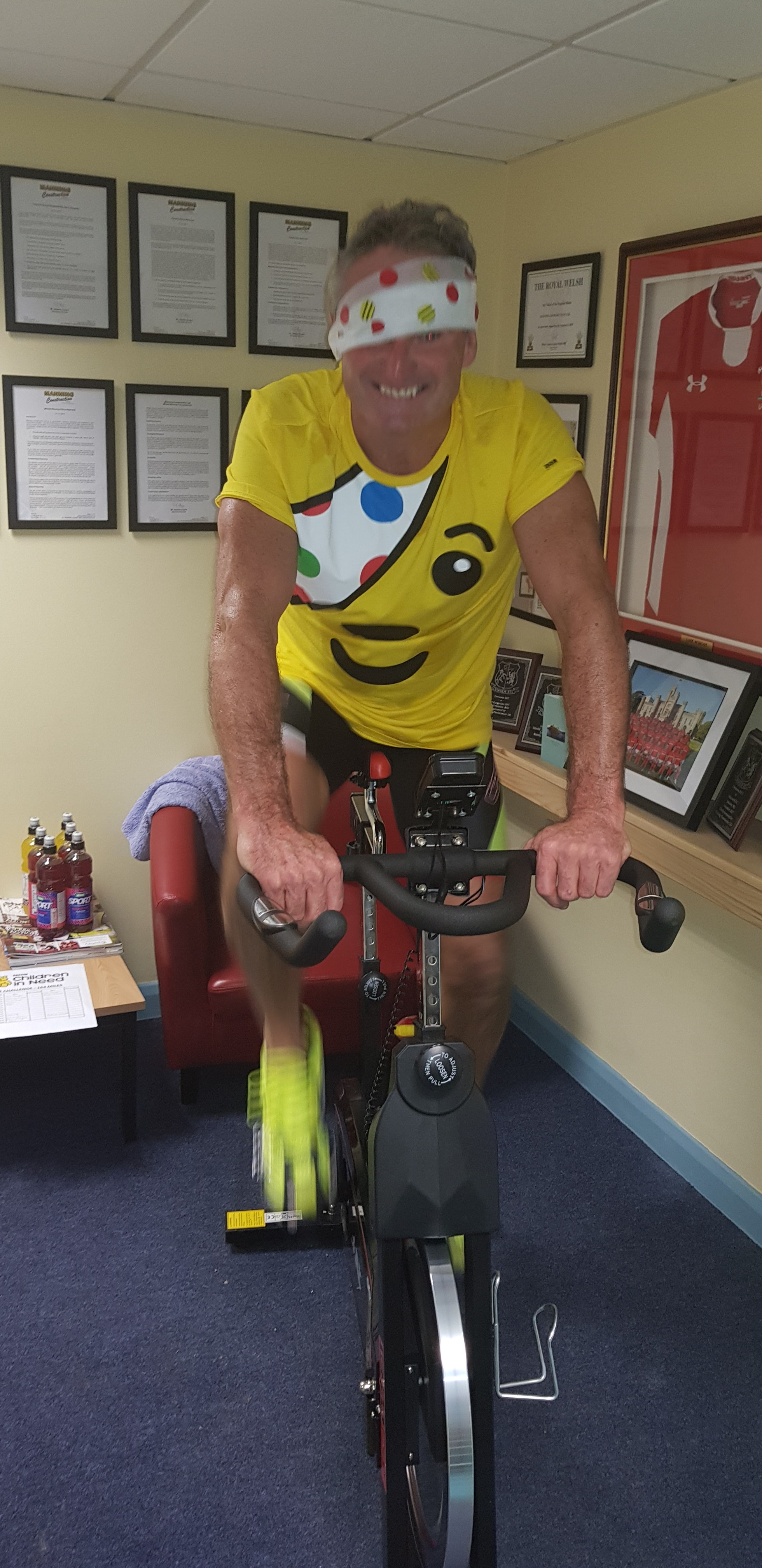 Children in Need Rickshaw Challenge