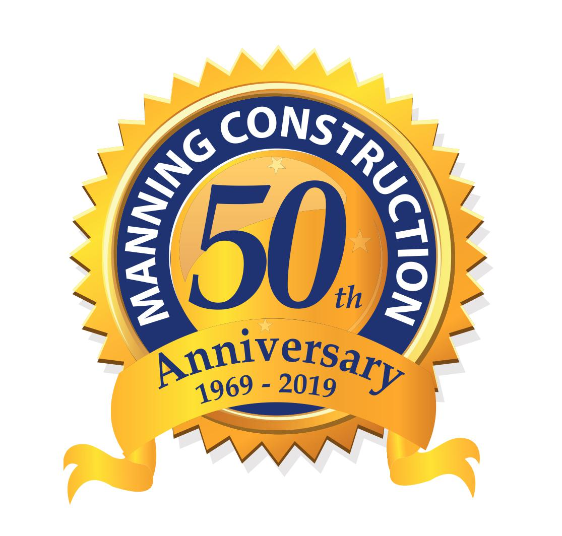 Manning Construction's 50th Year!